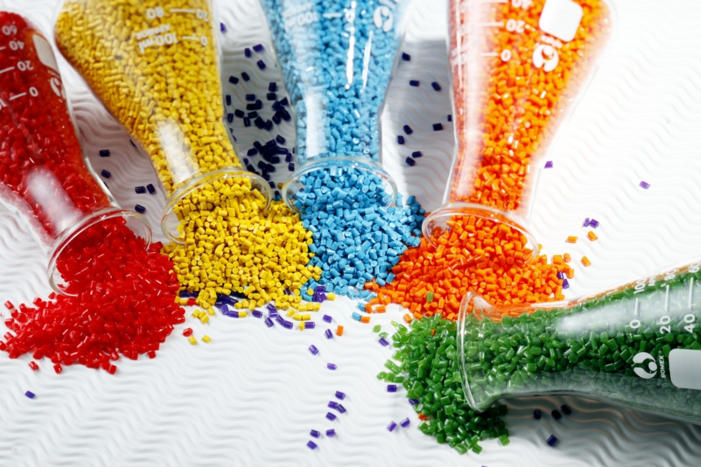 Materials used for injection moulding in NSW